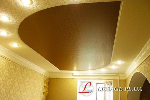 сатиновый натяжной потолок полтава